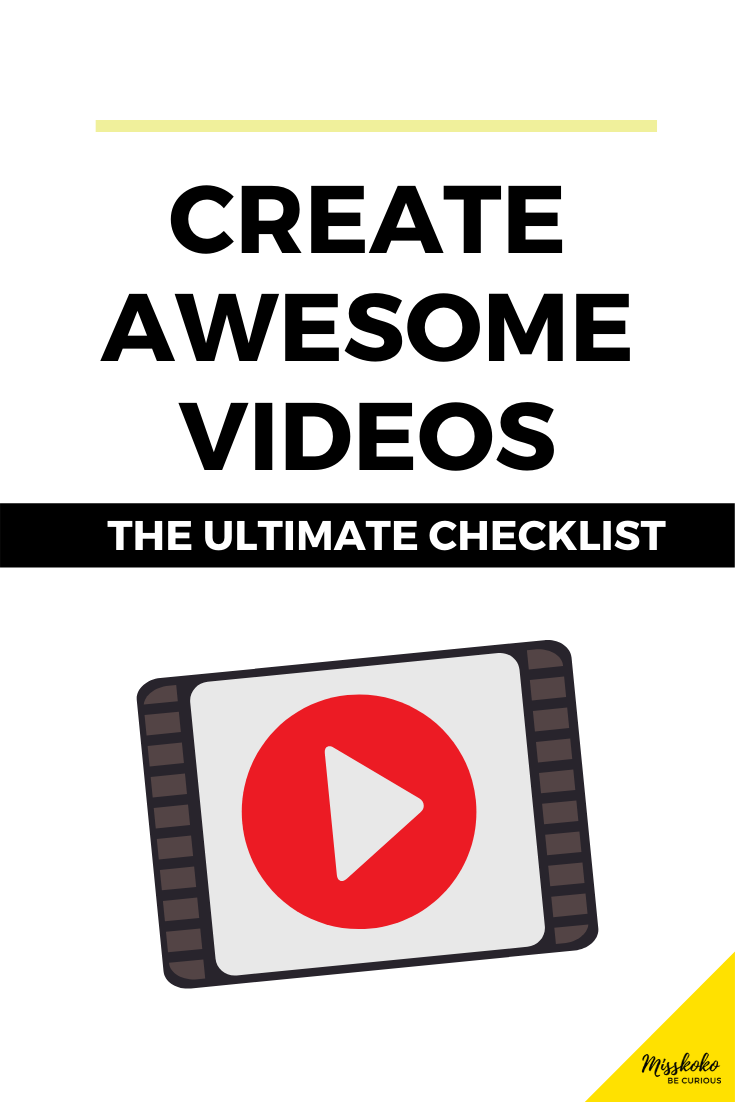 Image saying create awesome videos